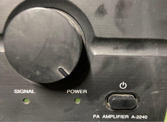 TOA A-2240 240 Вт микшер усилитель - 100 В линейный профессиональный Series ПА усилитель A2240