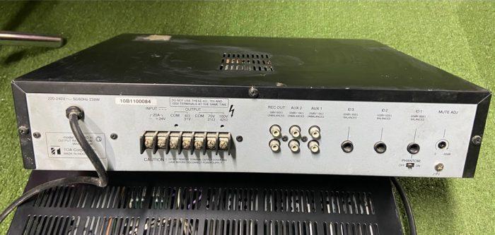 TOA A-2240 240 Вт микшер усилитель - 100 В
